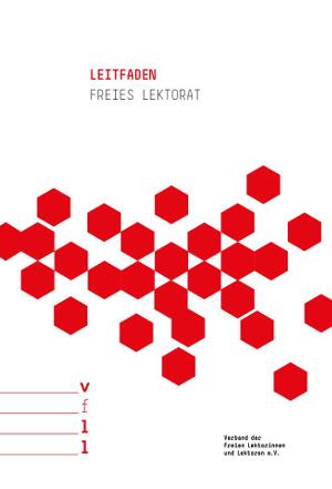 Cover der zehnten Auflage des Leitfadens Freies Lektorat